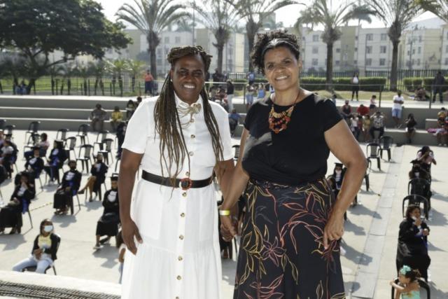 Ilma Rocha e Alba Valéria